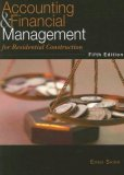 Accounting and Financial Management: For Residential Construction